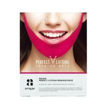 Avajar V-vonal és tokafeszesítő prémium unisex pink maszk