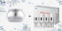 BERGAMO fehérítő hatású krém + fehérítő hatású szérum és vitamingyöngyös szérum szett