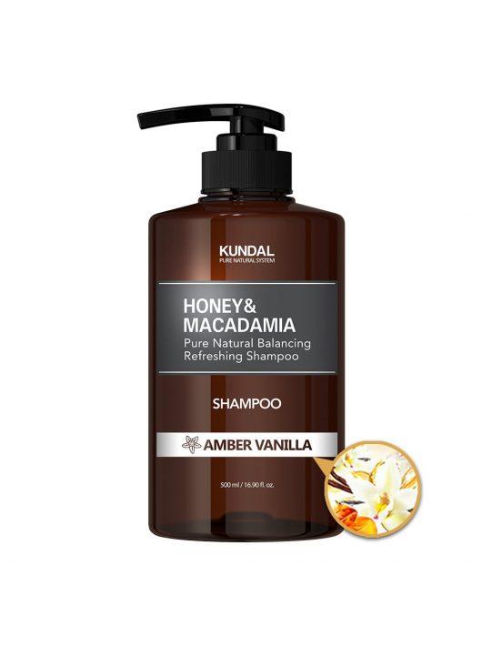KUNDAL Honey&Macadamia Amber Vanilla sampon 500 ml