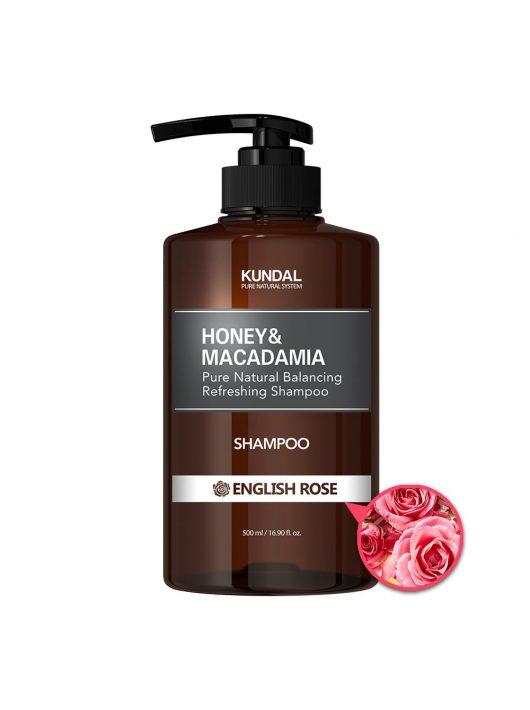 KUNDAL Honey&Macadamia Angol Rózsa sampon 500 ml