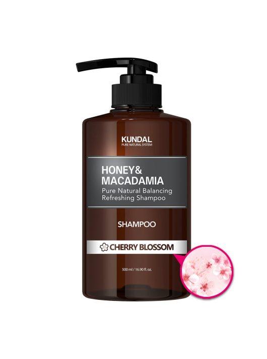 KUNDAL Honey&Macadamia Cseresznyevirág sampon 500 ml