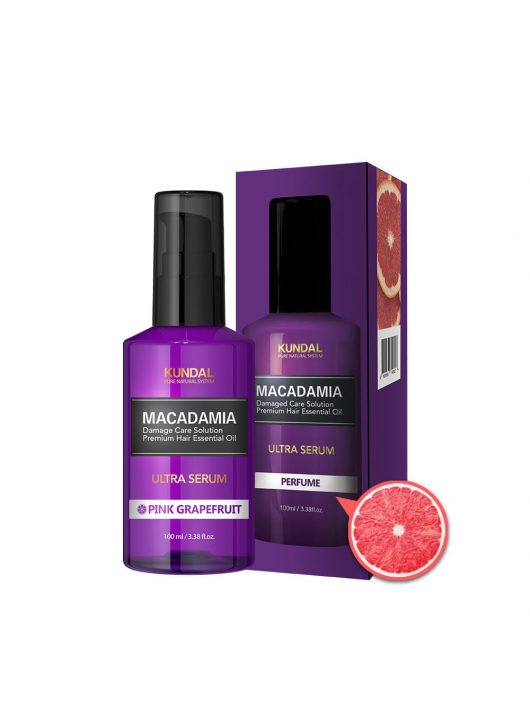 KUNDAL Honey&Macadamia Pink Grapefruit intenzív hajápoló szérum-olaj 100 ml