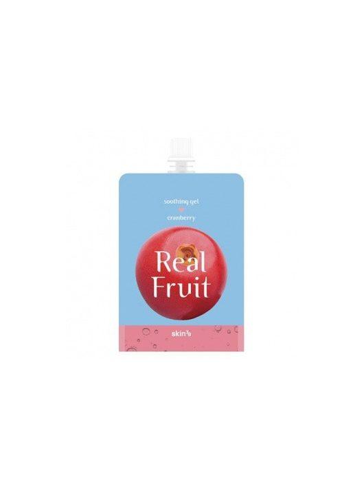 SKIN79 Real Fruit nyugtató testápoló gél 95% vörösáfonya kivonattal