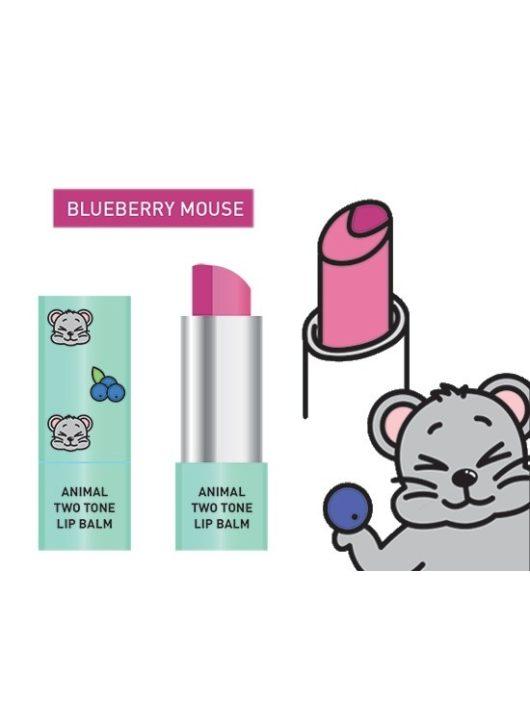 SKIN79 Blueberry Mouse kéttónusú ajakbalzsam és rúzs egyben