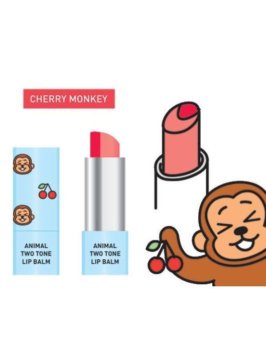 SKIN79 Cherry Monkey kéttónusú ajakbalzsam és rúzs egyben