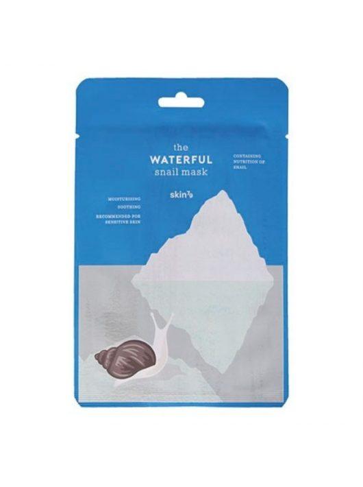 SKIN79 Waterful Snail hidratáló és nyugatató maszk csigamucin kivonattal
