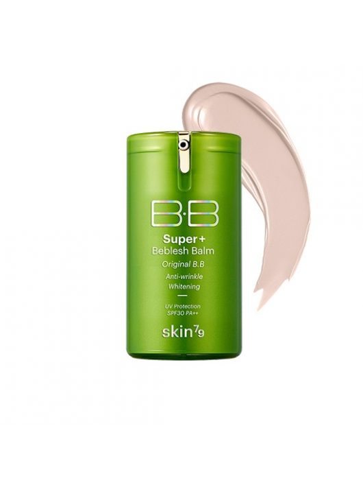 SKIN79 tripla funkciós öregedésgátló, bőrszínkiegyenlítő BB krém - zöld SPF30+