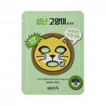 SKIN79 Angry Cat nyugtató, hidratáló fátyolmaszk irritált bőrre