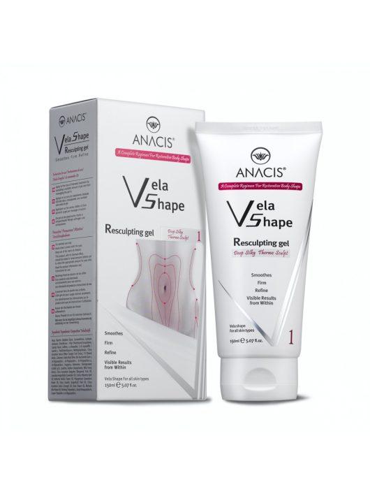 ANACIS Vela Shape Resculpting testfeszesítő, alakformáló cellulit elleni gél - erős zsírégető hatással