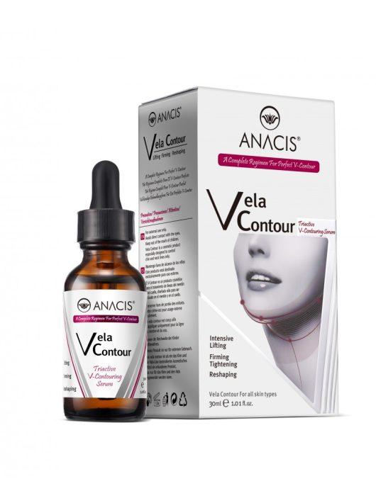ANACIS Vela Contour V-vonal (nyak és toka) feszesítő szérum forradalmi szabadalom, öregedésgátló formulával