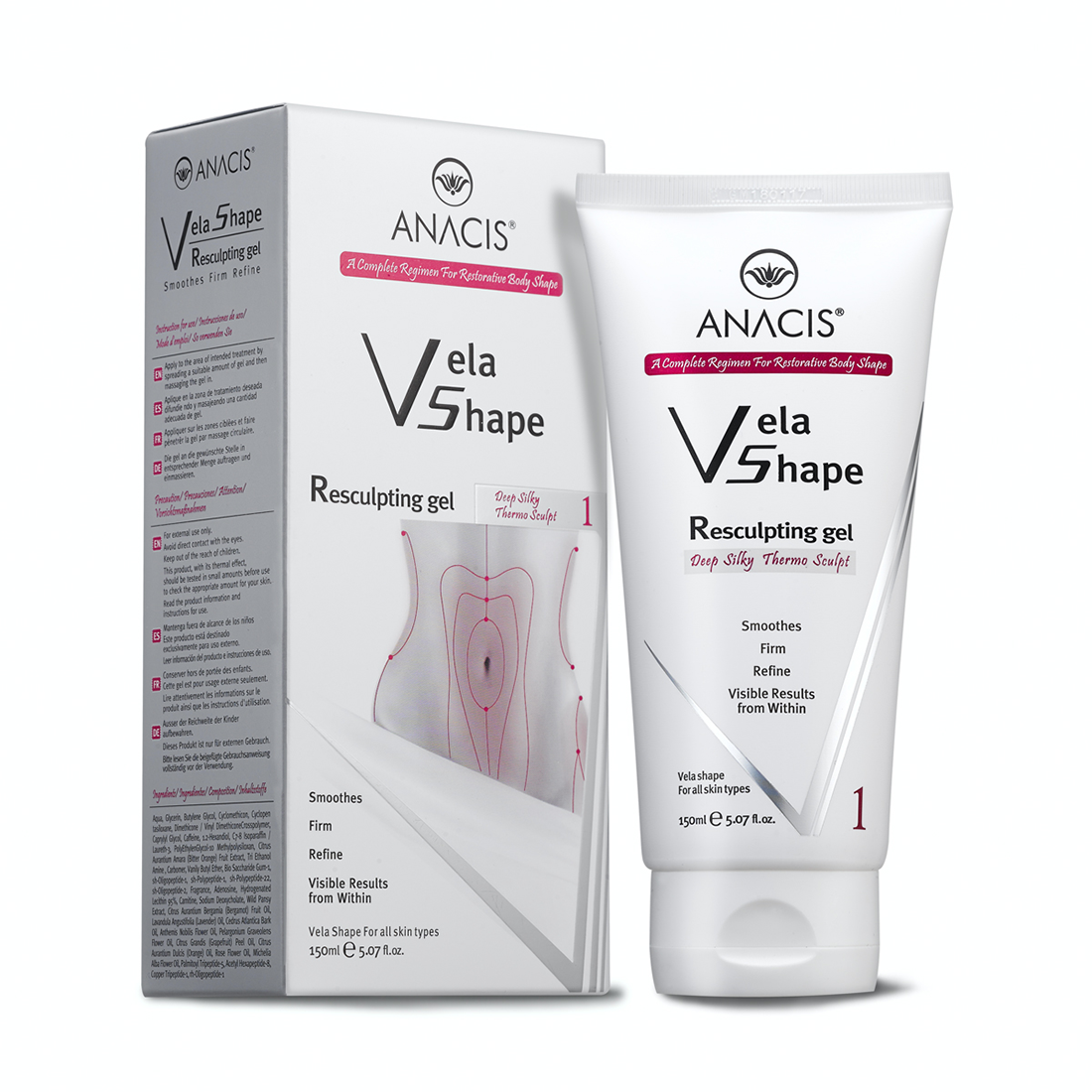 Kipróbáltuk a VelaShape nagy hatóanyagtartalmú testfeszesítő készítményeit!